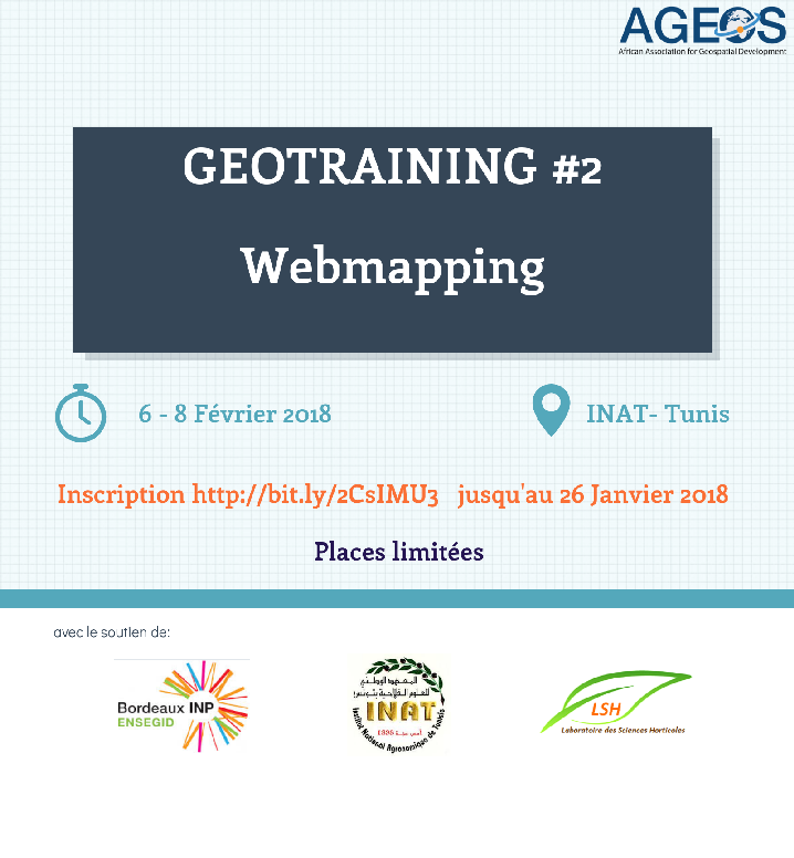 affiche webmapping AGEOS